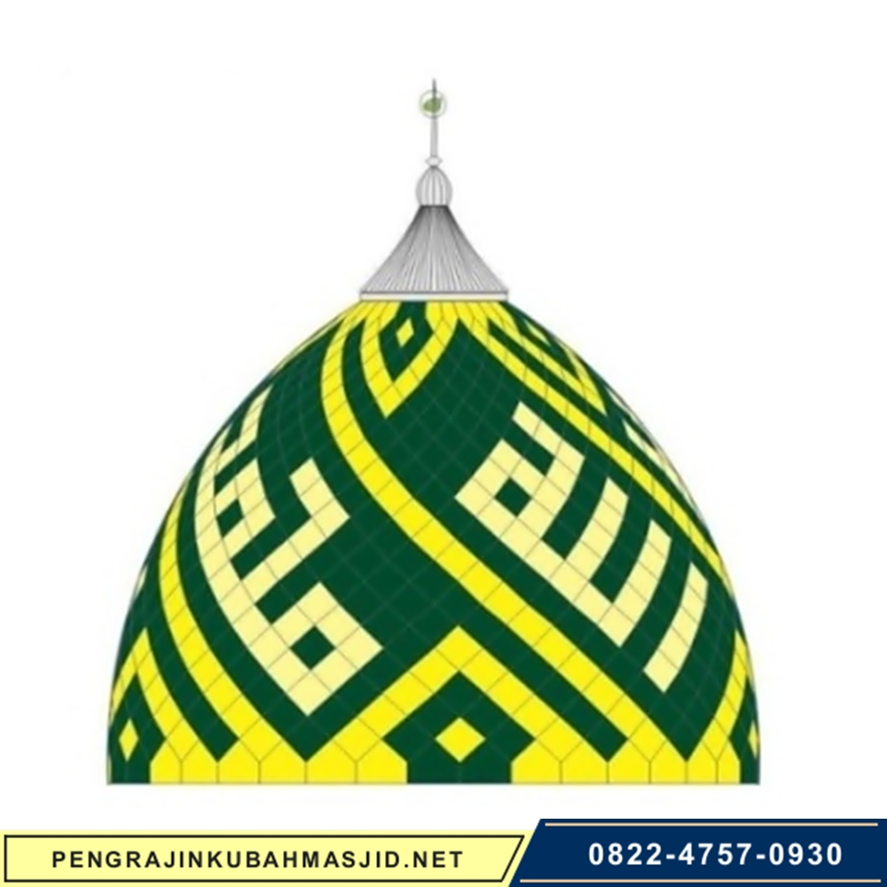 Pengrajin Kubah Masjid Motif Panel 7