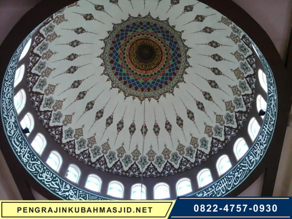 Pengrajin Kubah Masjid Motif Plafon 1