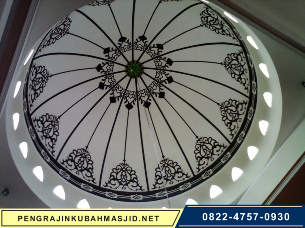 Pengrajin Kubah Masjid Motif Plafon 10