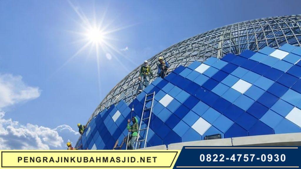 Pengrajin Kubah Masjid NET Frontpage - 1