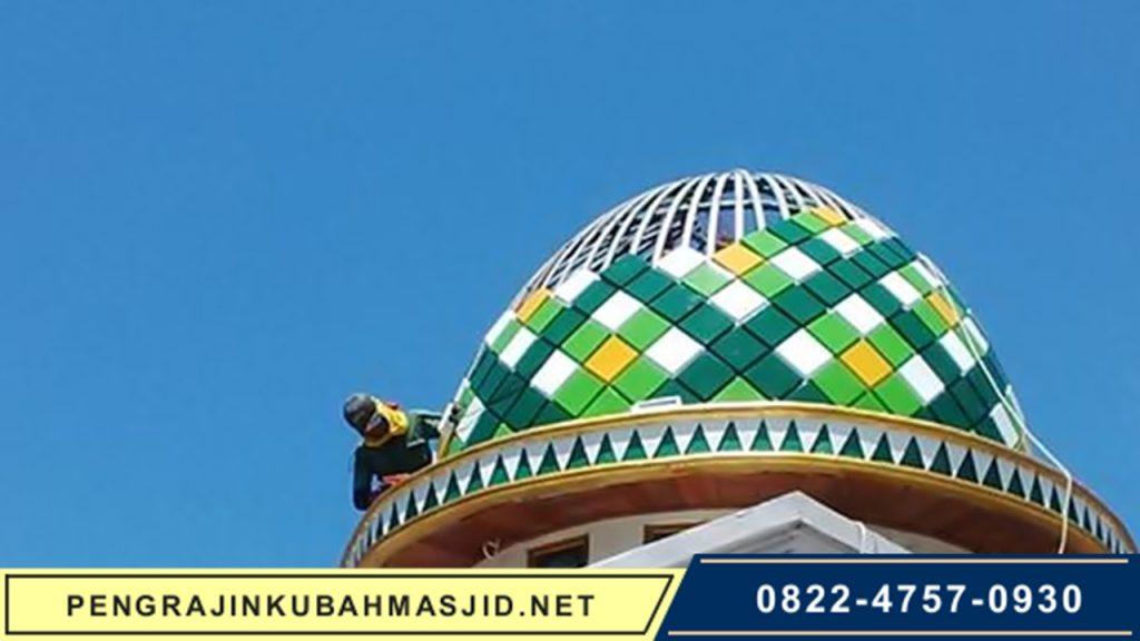 Pengrajin Kubah Masjid NET Frontpage - 2