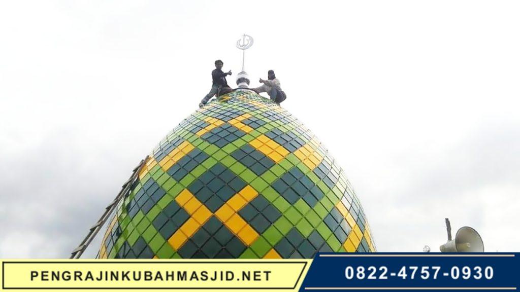 Pengrajin Kubah Masjid NET Frontpage - 6
