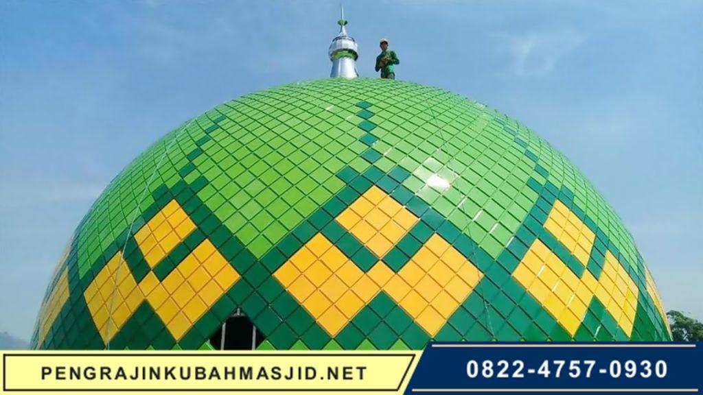 Pengrajin Kubah Masjid NET Galeri Panel 6