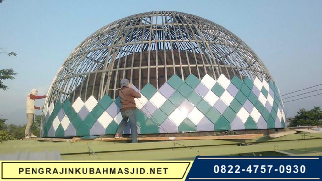 Pengrajin Kubah Masjid NET Galeri Panel 7