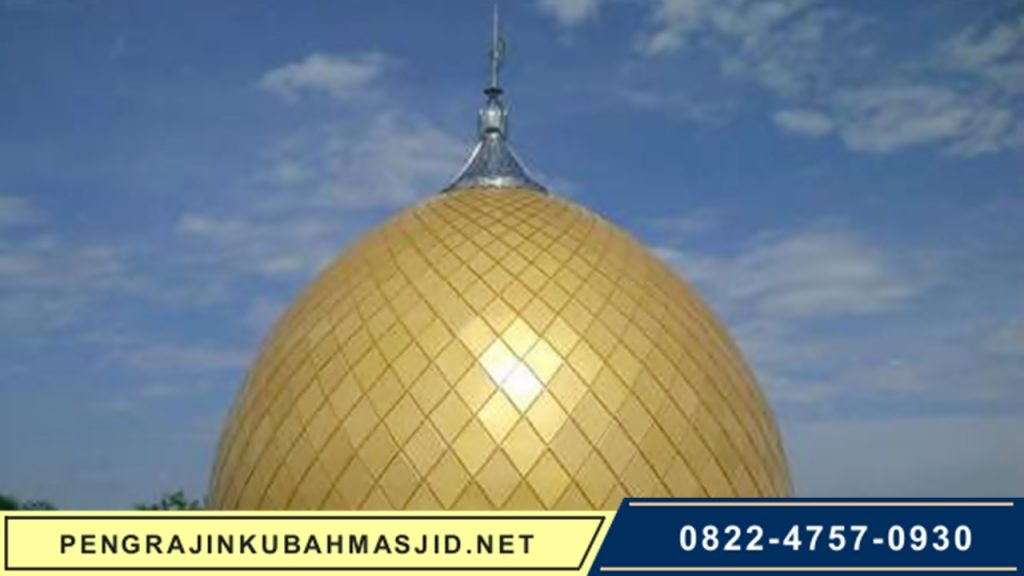 Pengrajin Kubah Masjid NET Galeri Panel 8