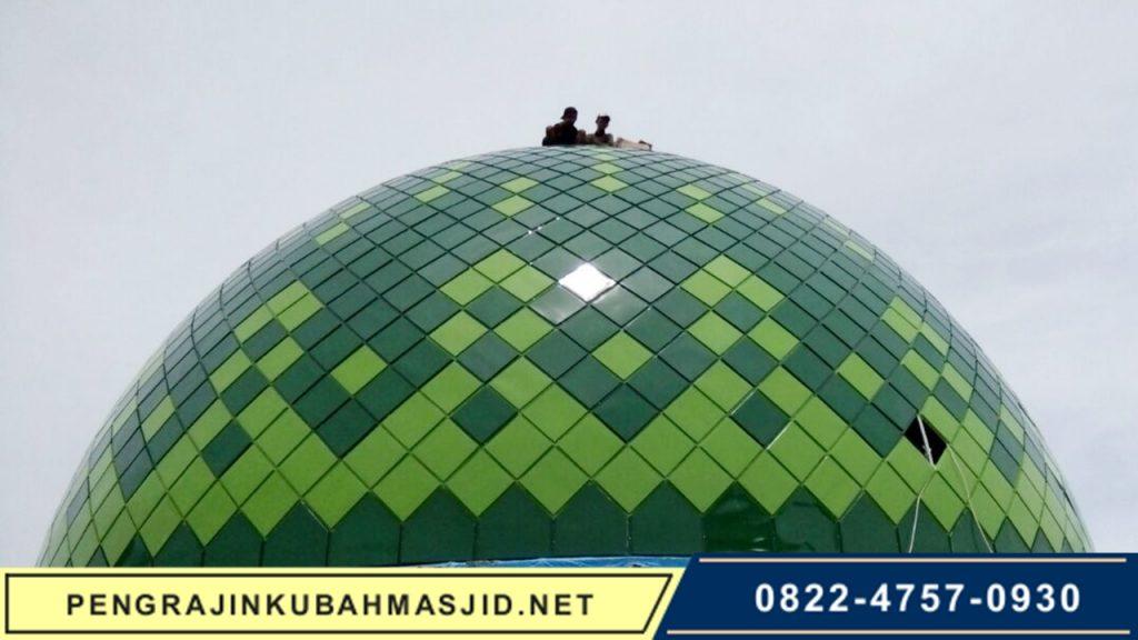 Pengrajin Kubah Masjid NET Galeri Panel 9