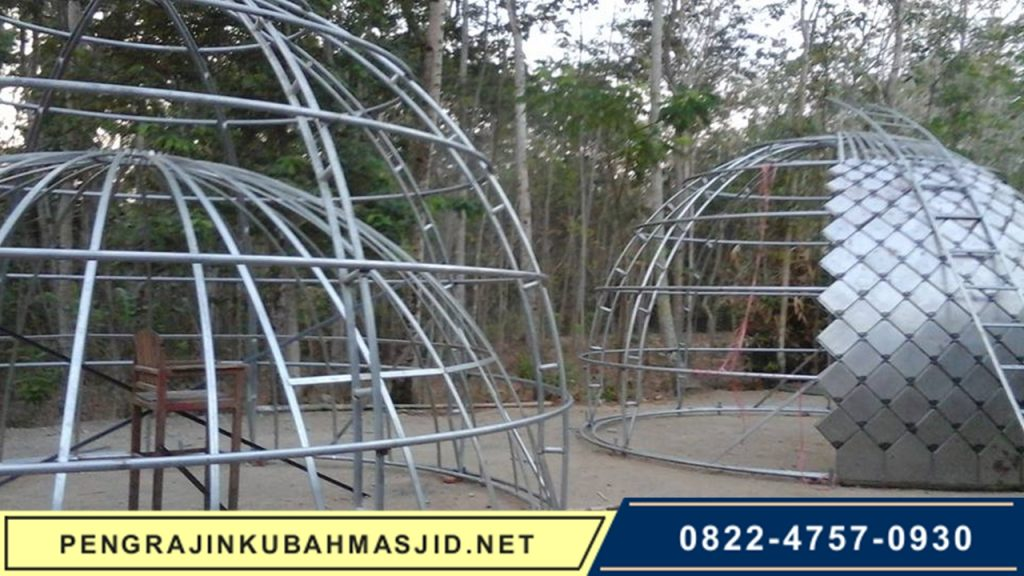 Pengrajin Kubah Masjid NET Galeri Rangka 1