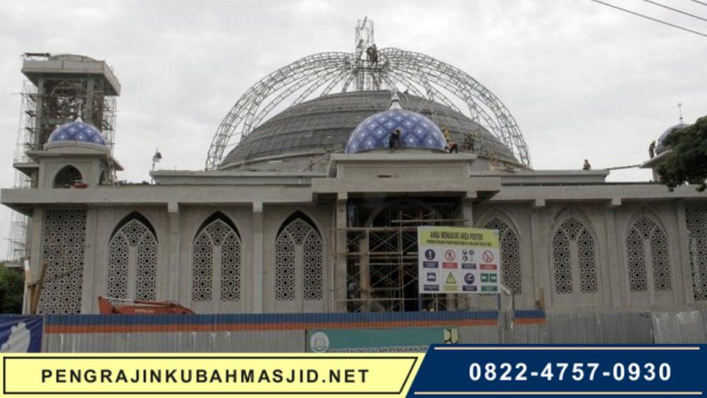 Pengrajin Kubah Masjid NET Galeri Rangka 10