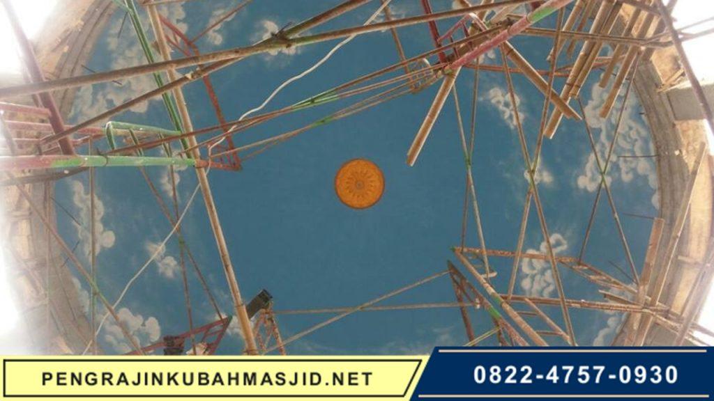 Pengrajin Kubah Masjid NET Galeri Rangka 2
