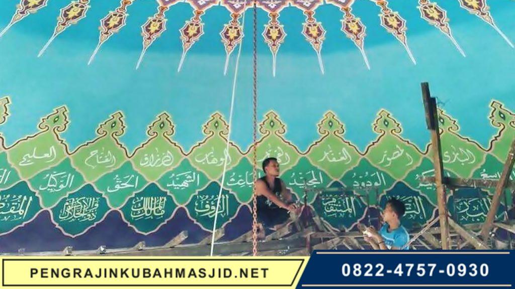 Pengrajin Kubah Masjid NET Galeri Rangka 3