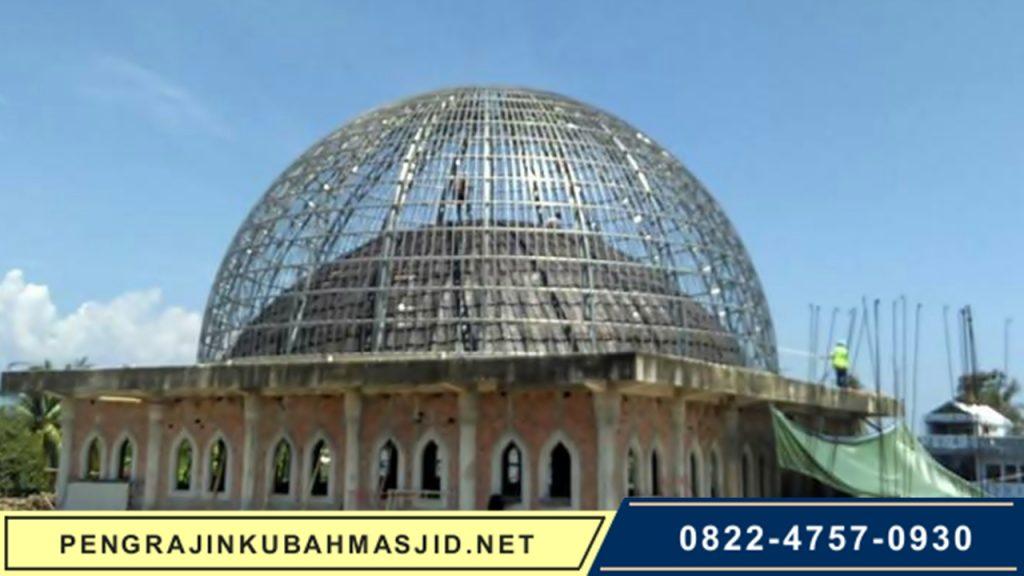Pengrajin Kubah Masjid NET Galeri Rangka 6