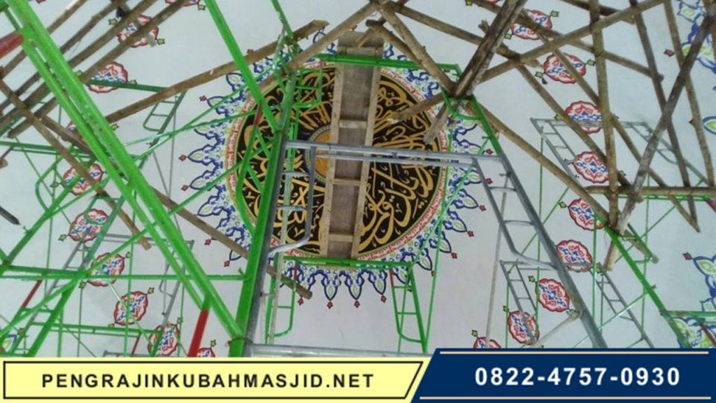 Pengrajin Kubah Masjid NET Galeri Rangka 7