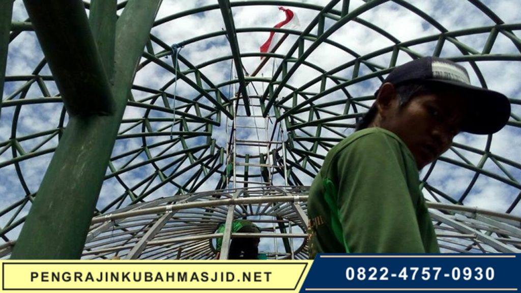 Pengrajin Kubah Masjid NET Galeri Rangka 8